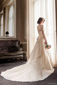 naomi neoh 2012 2013 grace wedding dress long sleeve lace jacket
