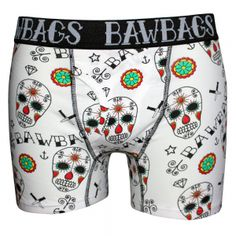 Bawbags Day Of The Dead Men's Boxers image 1