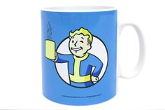 There's nothing nicer than a hot cup of cocoa when you've just been told that you have to fight for your life against mutated animals and crazy people in a dystopian wasteland. Now with this Official Fallout 4 Mug, with a design featuring Vault Boy, you can celebrate your fight for survival the right way!