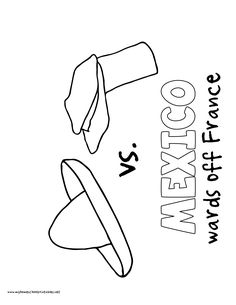 world history coloring pages printables mexico wards off france