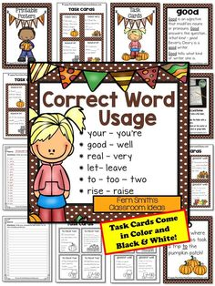 correct usage of words pdf