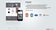 K-Consult Responsive Web Design