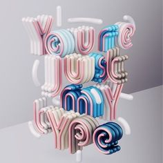 You are just my #type says @omaraqildesign #handmadefont