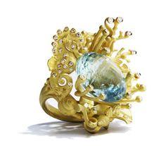 Il mondo marino di alta gioielleria di Massimo Izzo