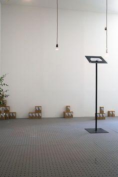 Exhibition of light bulb