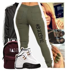 aaaaand gn by lamamig on Polyvore featuring polyvore fashion style adidas Originals Retrò clothing