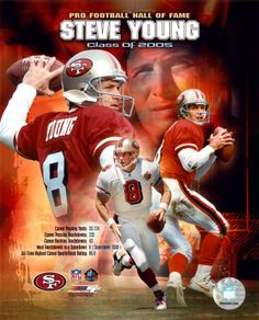 Steve Young, a great great quarterback! #Rebuildingmylife