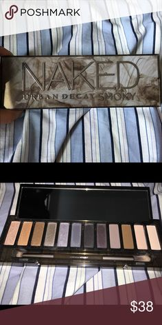 NAKED Urban Decay SMOKY pallet Bought from an Ulta in San Antonio, Texas! naked urban decay smoky pallet! a few of the colors have only been swatched on my arm but not used on my eyes, didnt like the colors for my skin tone when on my arm lol, sadly i threw away the box but i will surely package it well to make it to its new home! Needs a new home! Bundle with another item from my closet and save!!  Free small item with every purchase! I mail out everyday except sunday! Urban Decay Makeup…