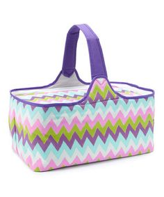 Love this Zigzag Insulated Picnic Basket by DEI on #zulily! #zulilyfinds