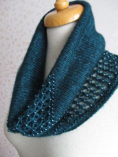 Free Knitting Pattern for Intermezzo Cowl