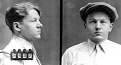 """Do you think Mr. Lester J. Gillis has a """"Baby Face"""" ? Does he even look remotely like a Nelson Family Member? Like maybe way be Ozzie and Harriet - perhaps! Real Gangster, Mafia Gangster, Baby Face Nelson, Wild West Outlaws, Famous Outlaws, Celebrity Mugshots, Chicago Outfit, Law Abiding Citizen, Bad To The Bone"""