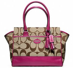 Win this Coach Purse from Raining Hot Coupons (Click Image to Enter)
