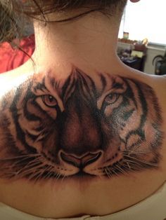 Tiger tattoo- I want!!!