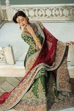 Latest Beautiful Walima Dresses Collection for Wedding Bridals 2015-16 (8)