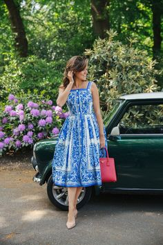 Vintage Fashion The Londoner - More Corsica posts coming soon, I promise. But today I thought you might enjoy a little Spring Summer Fashion, Spring Outfits, Style Summer, Rosie Londoner, Diy Beauty Hacks, Casual Dresses, Fashion Dresses, Long Dresses, Sophisticated Dress