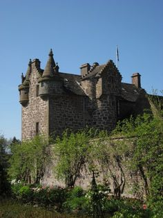Gardyne Castle is a 16th-century tower house in Angus, Scotland, located 2 kilometres (1.2 mi) south-west of Friockheim. The castle is still in use as a family home. The house was built by the Gardyne family. The Gardynes held a long-running feud with the Guthries of nearby Guthrie Castle and the Crown confiscated the lands of both families in 1632. The Gardynes then moved to a nearby residence, and Gardyne Castle became the property of the Lyell family of Dysart. Wikipedia