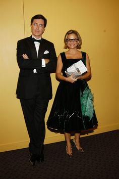 Stephen Colbert and Amy Sedaris Kinds Of People, Good People, Amy Sedaris, John Oliver, Fly On The Wall, Jon Stewart, Stephen Colbert, I Love Books, My Hero