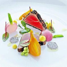 thon fruit del apssion  lègumes  et  sauces  de Inconnu chef ^ _ *