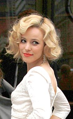 marilyn monroe hair | Rachel McAdams' Marilyn Monroe hairstyle | SheKnows CelebSalon