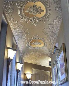 Latest POP Design For Hall, 50 False Ceiling Designs For Living Rooms 2018  | Pinterest | Pop Design, Ceilings And Hall