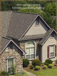 Best Castlewood Gray Gaf Designer Roof Shingles Home 400 x 300
