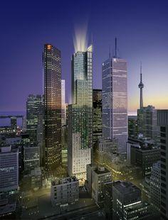 Toronto ( iPhone/iPod wallpaper )