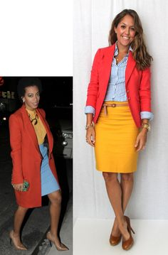 Today's Everyday Fashion: Solange Style — J's Everyday Fashion This lady has created so many cute ou Style Outfits, Fashion Outfits, Work Outfits, Skirt Outfits, Casual Outfits, Outfit Work, Womens Fashion, Ladies Fashion, Fashion Boots