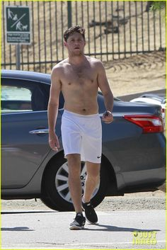 niall horan goes for shirtless hike at las runyon canyon 01