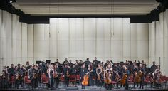 Concierto 2: Maupoint - Tchaikovsky - Sibelius. Orquesta Filarmónica de Santiago. Director musical: Konstantin Chudovsky. Foto: Patricio Melo.