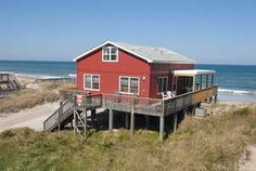 Photos: Beach Barn - 4 bedroom-ocean front. E-mailed owner for rate quote for week of August 9th. Approximately $3, 500.