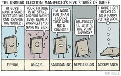 For the @guardian #tomgauld #cartoon #manifesto #politics... #YOU_RE_ALL_JUST_JEALOUS_OF_MY_JETPACK #Tom_Gauld #Arsetculture