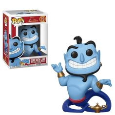 Aladdin Genie with Lamp Pop! Vinyl Figure Wishes do come true! Based on the Disney animated film Aladdin, popular characters undergoing the Funko treatment. The Aladdin Genie with Lamp Pop! Vinyl Figure measures approximately . Disney Pop, Disney Pixar, New Disney Movies, Dark Disney, Genie Aladdin, Funk Pop, Pop Vinyl Figures, Chuck Norris, Toy Bonnie