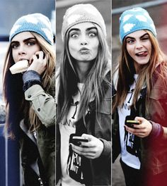By far my favourite model! She seems so cool and down to earth