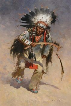 native american indians View Victory dancer by Zhuo Shu Liang on artnet. Browse upcoming and past auction lots by Zhuo Shu Liang. Native American Paintings, Native American Pictures, Native American Artists, Native American History, Indian Paintings, Dance Paintings, American Indian Art, American Indians, Native American Warrior