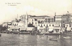 The old harbour of Chania. Crete, Greek Islands, Old Pictures, Vintage Photos, Paris Skyline, Taj Mahal, The Past, Old Things, In This Moment