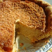 Navy Bean Pie. My trainer is always pestering me to make this. In fact he just reminded me so before I'm leaving the gym I am pinning it.  Made it. Very tasty and healthy. Almost has the texture of cheesecake. You could probably try to make it in to a cheesecake with flavors or such.