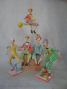 Needle Felted Animals, Felt Animals, Needle Felting, Paper Mache Crafts, Wire Crafts, Paper Dolls, Art Dolls, Doll Face Paint, Paper Mache Sculpture