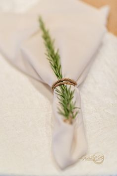 Simple country napkin settings