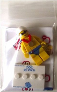 Lego Team GB Olympics Minifigures - Stealth Swimmer Set #8909 (UK Exclusive) by LEGO. $15.87