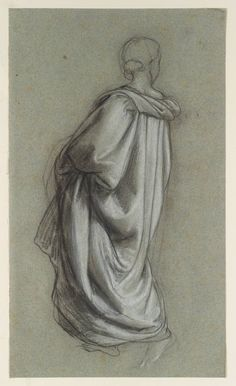 William Dyce, A Draped Figure