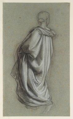 William Dyce, A Draped Figure