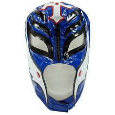 Rey Mysterio Blue & White Replica Mask - WWE