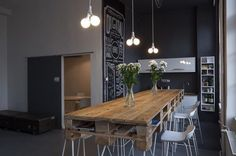 pallet office table - Google Search