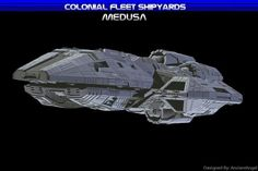 Heavy Destroyer Medusa.  BSG