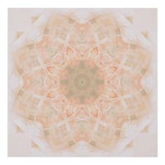 Peach Orange Mandala Wood Wall Art #mandala #colorful #abstract #oudeen #tan #orange #peach #brown #warm #fall #pattern #zazzle #art #trendy #design #graphic #graphicdesign