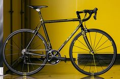 Well, the countdown is on for your chance to own another in the spectacular collection of handmade bikes that Mavic have produced to celebrate their 125th Anniversary. This time, Massachusetts' Seven Cycles are offering one of their double butted titanium Axiom SL models, custom dressed in a Mavic cadmium yellow paint scheme. From the press…