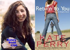 Book Club: A Q with kick-ass romance novelist Kate Perry