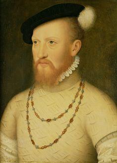 Sir Edward Seymour, by Hans Holbein.