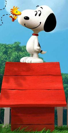 Snoopy & Woodstock.