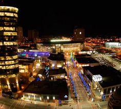 the new kansas city power & light entertainment district...